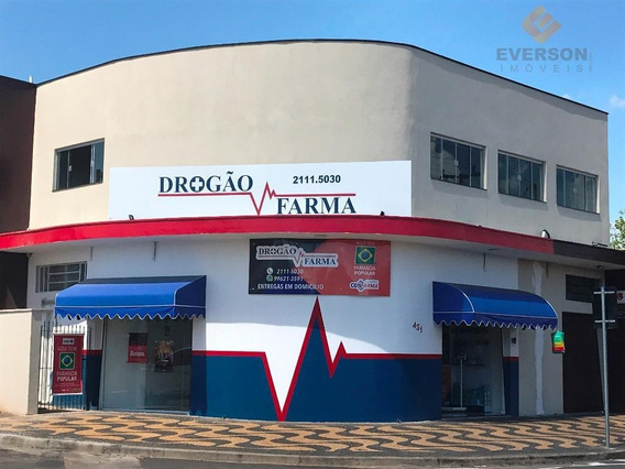 Sala Comercial Para Locação, Parte Superior, Jardim Vilage, Rio Claro - Sa0068. - Sa0068