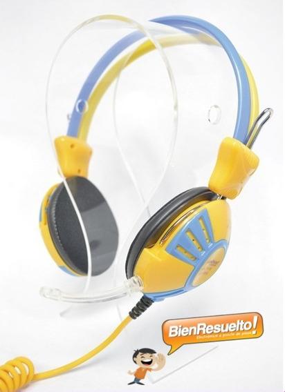 Audifonos Con Microfono Hyglobal Para Pc Laptop Headset