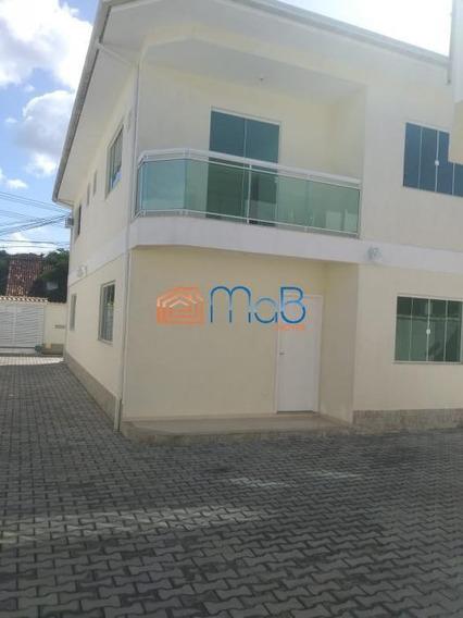 Excelente Casa Com 3 Quartos E 124m² Na Praia Da Baleia - Costa Azul. - Ca054