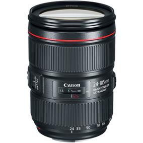 Lente Canon Ef 24-105mm F/4l Is Ii Usm - Loja Platinum