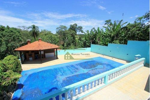 Imagem 1 de 30 de Chácara Com 3 Dormitórios À Venda, 8000 M² Por R$ 750.000,00 - Jardim Camargo - São Roque/sp - Ch0093