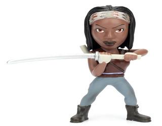 Figura Metalica 11 Cm. Michonne The Walking Dead