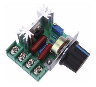 Regulador De Velocidad Scr Dimmers 220v 2000w Arduino Mona