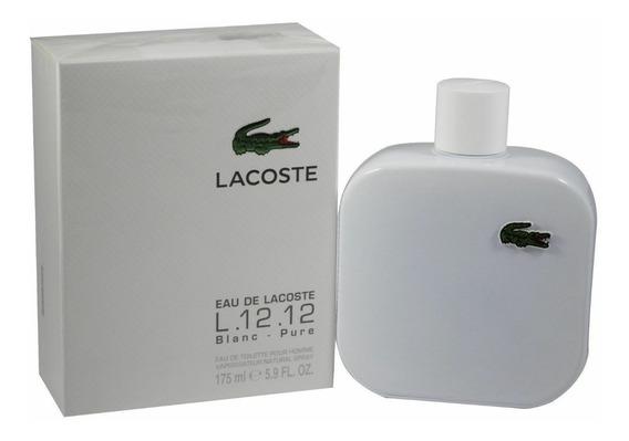 Perfume Lacoste Eau De Lacoste L.12.12 Blanc175 Ml Original