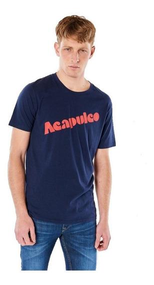 Remera Hombre Bensimon Acapulco Moda Verano 2020