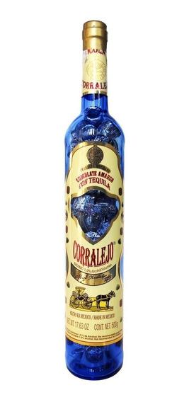 Paquete Con 2 Botella Chocolate Chocolates Tequila Corralejo