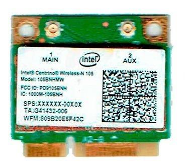Placa Wifi Mini Pci-e Intel Centrino Wireless 105bnhmw