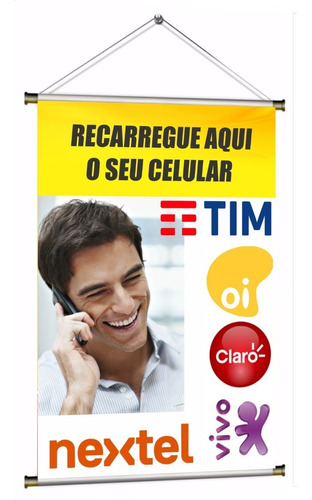 Banner Pronto Recarga De Celular