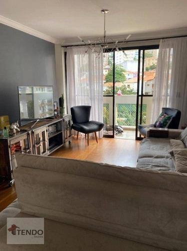 Imagem 1 de 17 de Imob01 - Apartamento 128 M² - Venda - 3 Dormitórios - 1 Suíte - Vila Mariana - São Paulo/sp - Ap3054