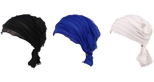 Pañuelo Con Pliegues Para Cabeza, Para Mujeres Que Hicieron