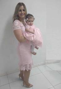 Vestido De Festa Tal Mãe Tal Filha Rosa Tam G Tam 1