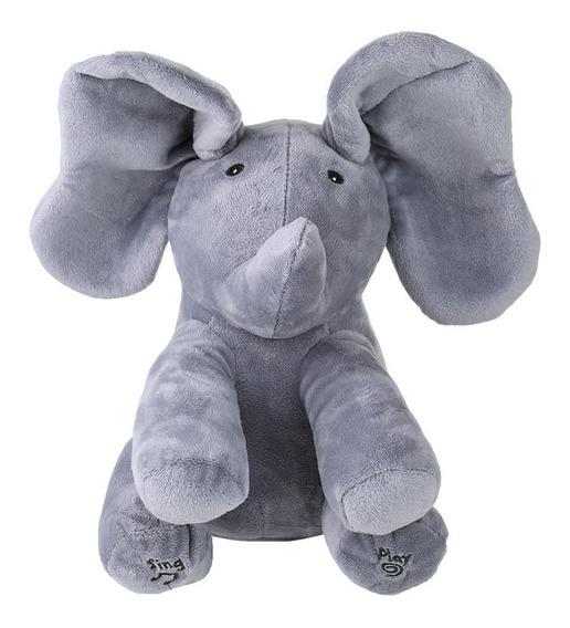 Eltrico Elefante Pequeno Adorvel Animado Flappy Push Dol