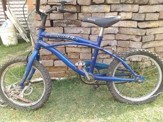 Bicicleta Pioneer Bmx Para Niños Poco Uso Buen Estado