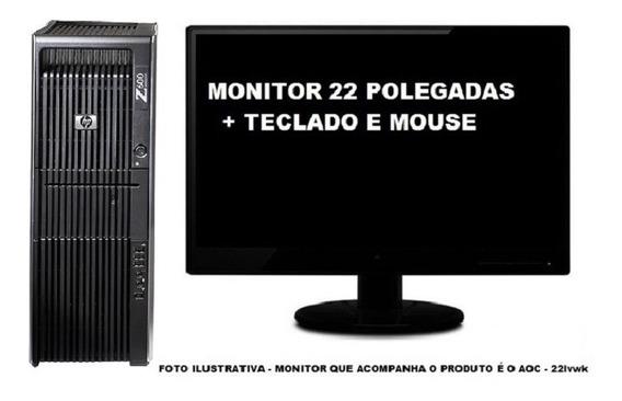 Workstation Hp Z600 Xeon + Quadro 8gb 120ssd + 1tb Semi Novo