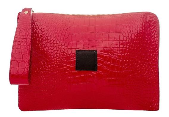 Sobre Rojo Cuero Croco Dior
