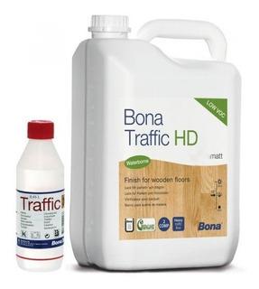 Bona Traffic Hd | Fosco | Para Piso De Madeira - 5 Litros