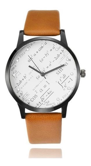 Relógio De Pulso Miler Símbolos Fórmulas Matemática