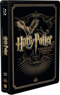 Pack Saga Harry Potter -steelbook Blu-ray Coleccion Completa