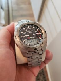 Relógio Suíço Tissot T-touch Titanium Vidro Safira Perfeito