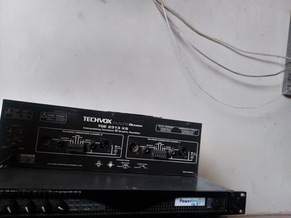 Equalizador Techvox Tge 2313 Xs