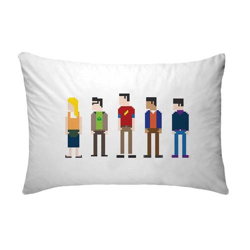Fronha Big Bang Theory 8 Bits