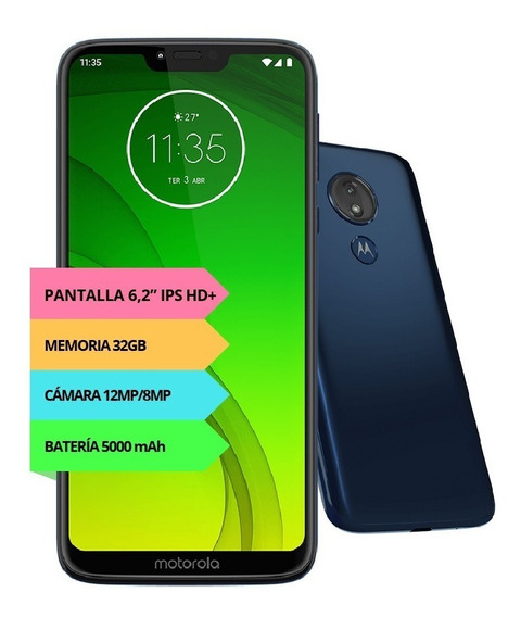 Celular Motorola Moto G7 Power Bateria 5000mah Oficial Full