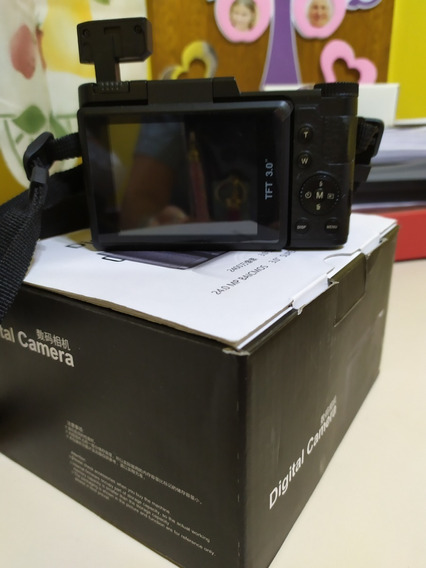 Camara Digital 24 Mp Video Única Con Pantalla Rebatible