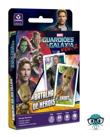 Guardiões Da Galáxia Jogo De Heróis Batalha Copag