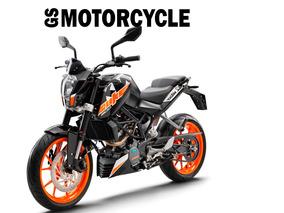 Ktm Duke 200 Gs Motorcycle