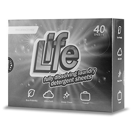 Hojas De Detergente Para Lavar Ropa Sin Fragancia  40 Unidad