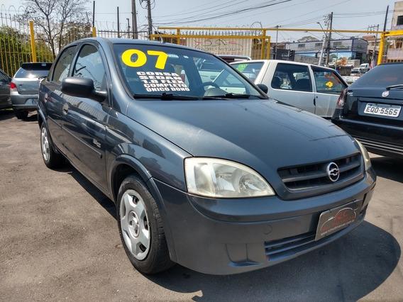 Gm Corsa Sedan Maxx 1.8 Flex 2007 Completo