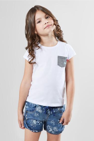 Camiseta Bolso Est Listra Reserva Mini