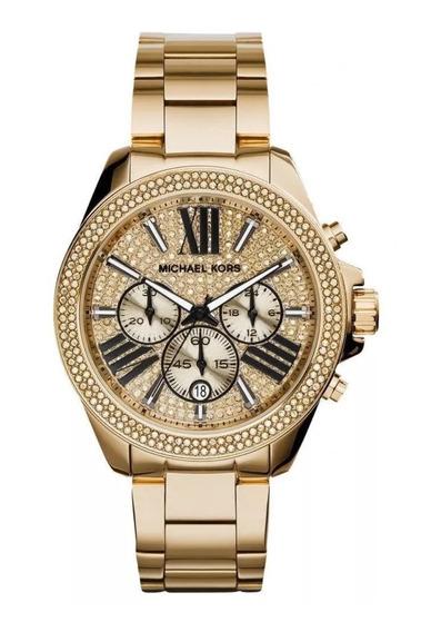 Reloj Michael Kors Mk6095 Wren Pave, Original Y Nuevo!