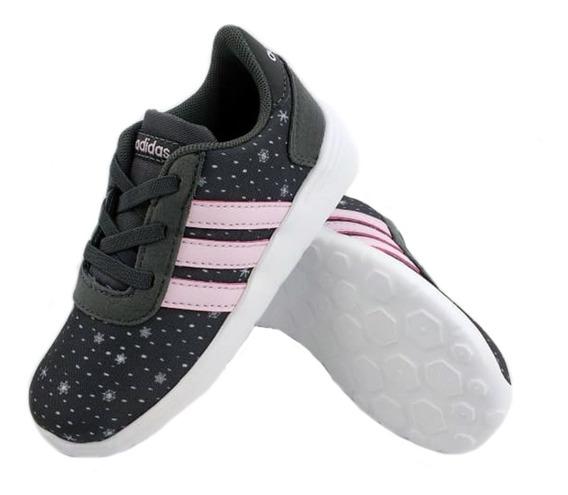 Zapatillas adidas Lite Racer Infantil Gris Niña Empo2000