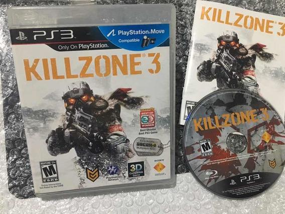 Killzone 3 Ps3 Seminovo ! Em Ótimo Estado!