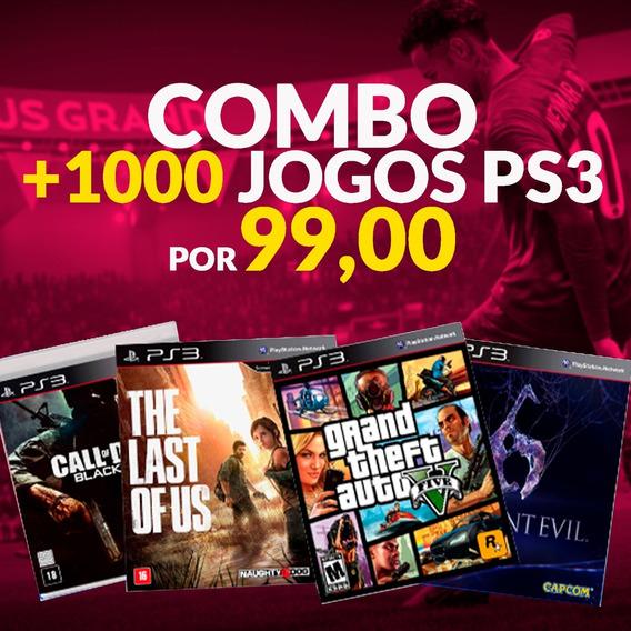Pacote Jogos Ps3 Psn + De 1000 Jogos