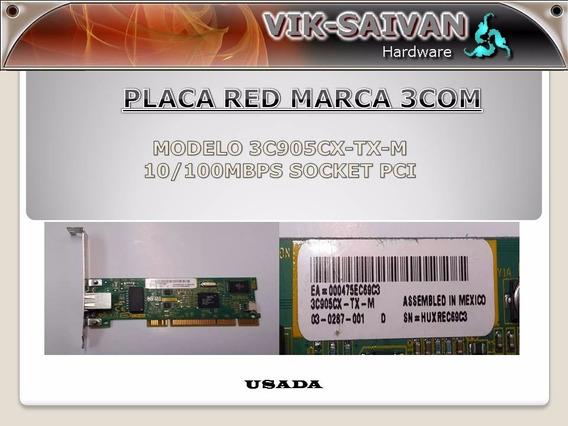 Placa De Red 3com 3c905cx-tx-m 10/100 Pci 51