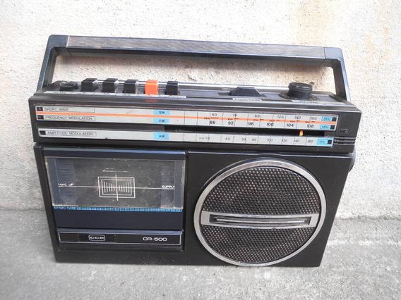 Rádio Cce Cr-500 Vintage