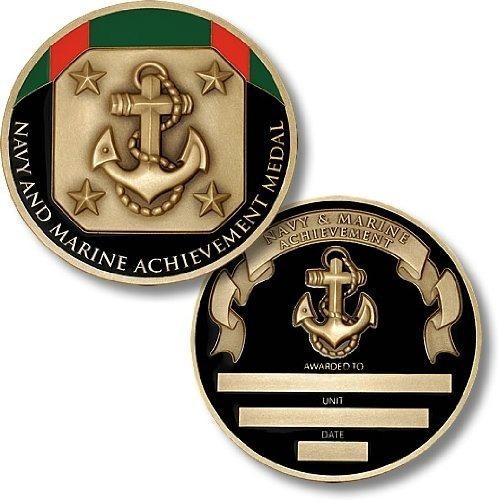 La Armada Y La Marina Logro Moneda Medal - Coin Challenge En