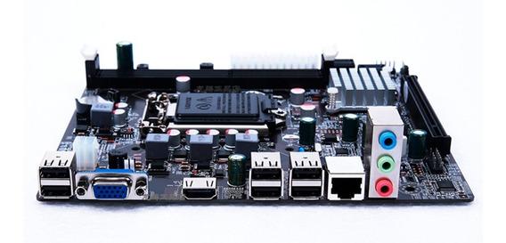Kit Upgrade Placa Mãe + Processador I5 3.70ghz + Memória 8gb