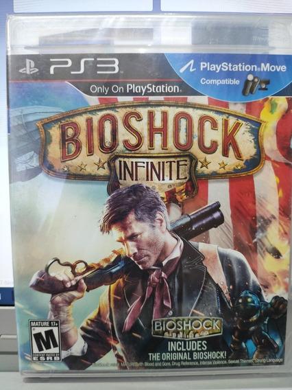 Jogo Bioshock: Infinite Playstation 3, Mídia Física, Lacrado