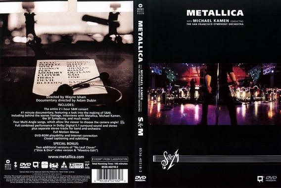 Metallica - S & M - 2 Dvd - W