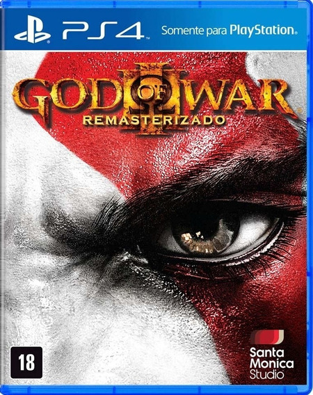 God Of War Lll Remastered Ps4 Midia Digital Primária Dublado