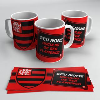 Caneca Do Flamengo Personalizada Com Seu Nome