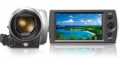 Filmadora Sony Handycam Dcr-sx20 Zomm 50x Top De Linha