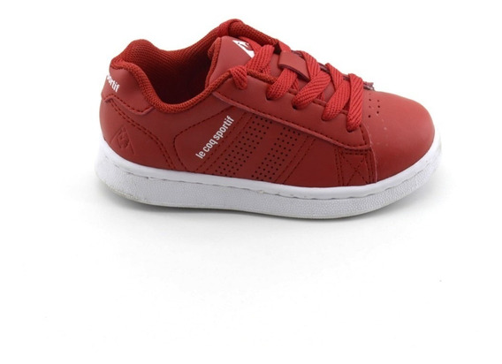 Zapatillas Escolares Le Coq Sportif Sculi Red