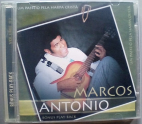Cd Marcos Antônio - Um Passeio Pela Harpa Cristã