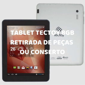Tablet Tectoy Octopus 8 8gb Conserto Ou Retirada De Pçs