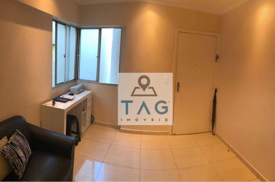 Apartamento Mobiliado Com 1 Dormitório Para Alugar, 55 M² Por R$ 1.400/mês - Bosque - Campinas/sp - Ap0039