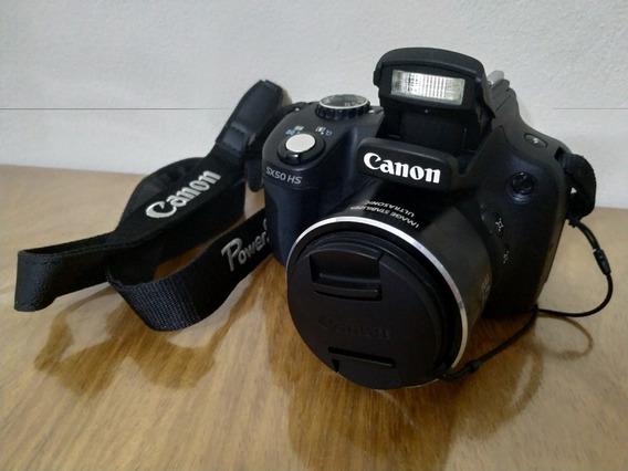 Câmera Powershot Sx50 Hs Impecável + Acessórios